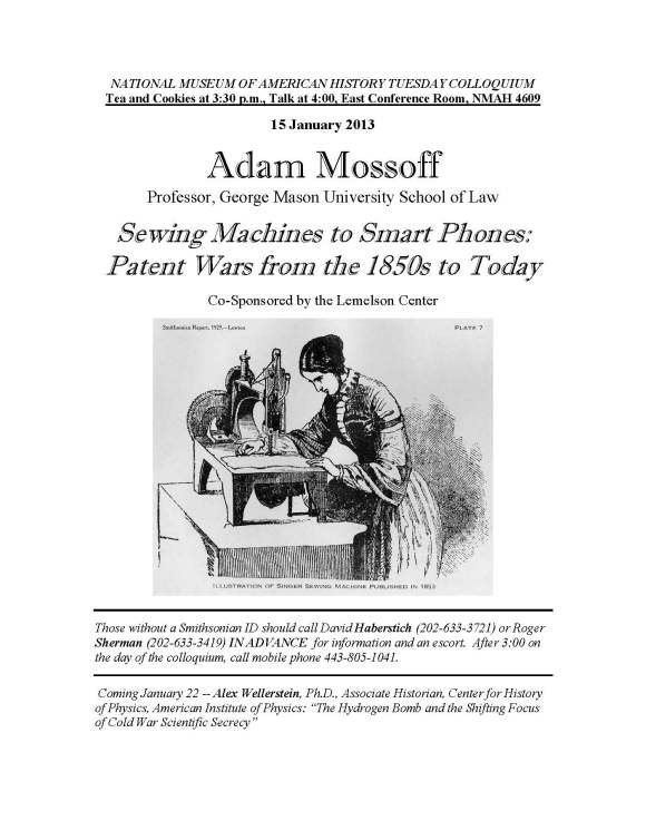 Mossoff Smithsonian